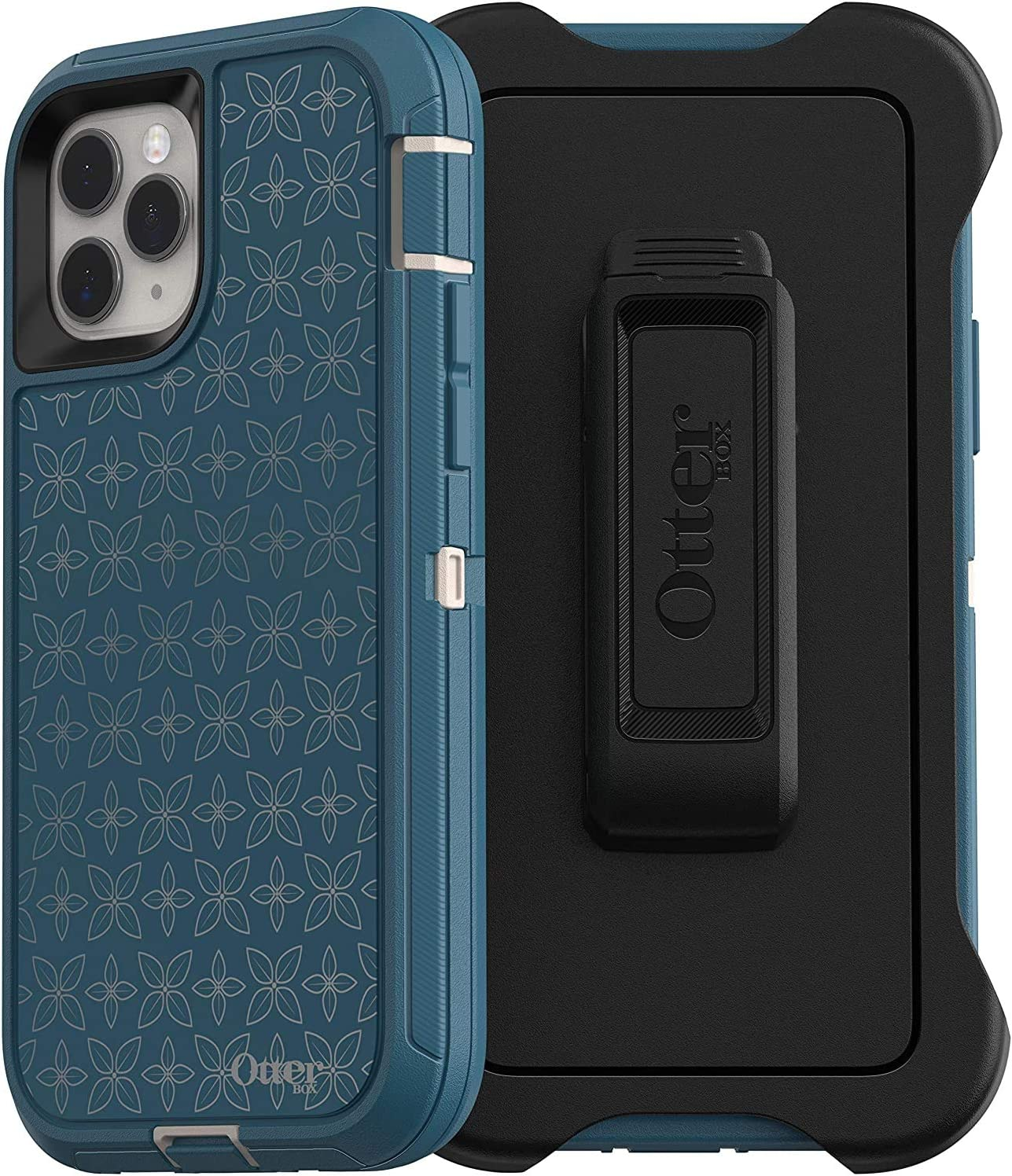 OtterBox Defender Screenless Series Case & Holster for iPhone 11 PRO - Non-Retail Packaging - Petal Pusher