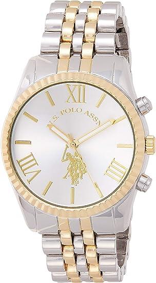U.S. Polo Assn. Women's USC40057 Two-Tone Bracelet Watch