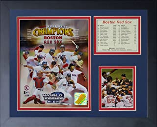 Legends Never Die'2004 Boston Red Sox World Series Champions' Framed Photo Collage, 11 x 14-Inch