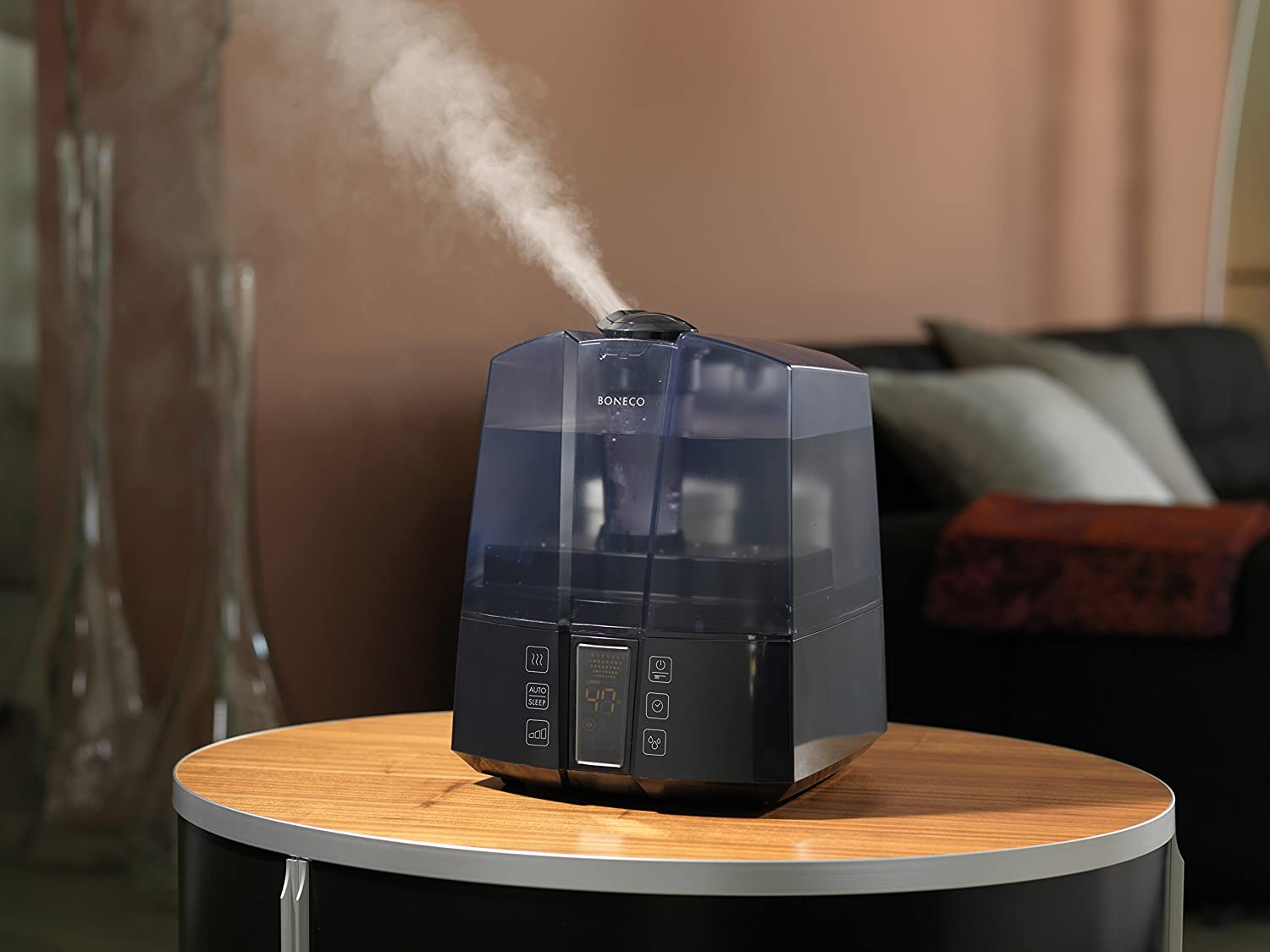 BONECO/Air-O-Swiss Warm or Cool Mist Ultrasonic Humidifier 7147