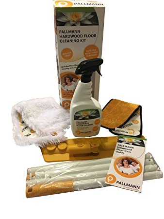 pallmann hardwood floor cleaner oz concentrate pallmann wood floor cleaning kit amazoncom kit health personal care