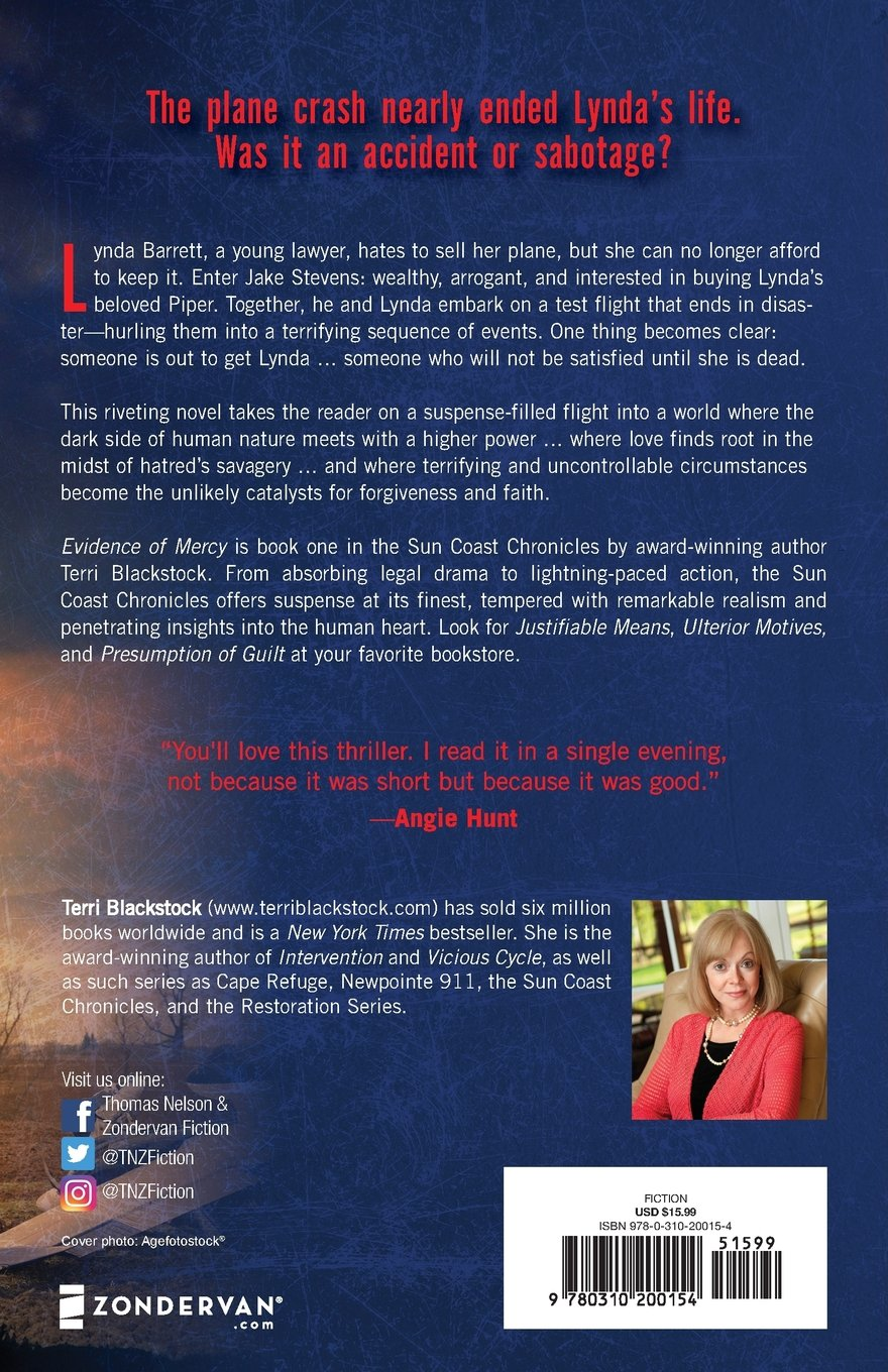 e697c796 Evidence of Mercy : Terri Blackstock: 0025986200152: Amazon.com: Books
