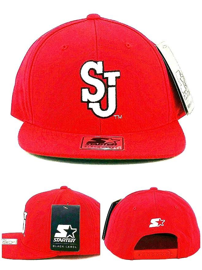 Black Label St. Johns Red Storm New Starter SJ Era - Gorra, diseño ...