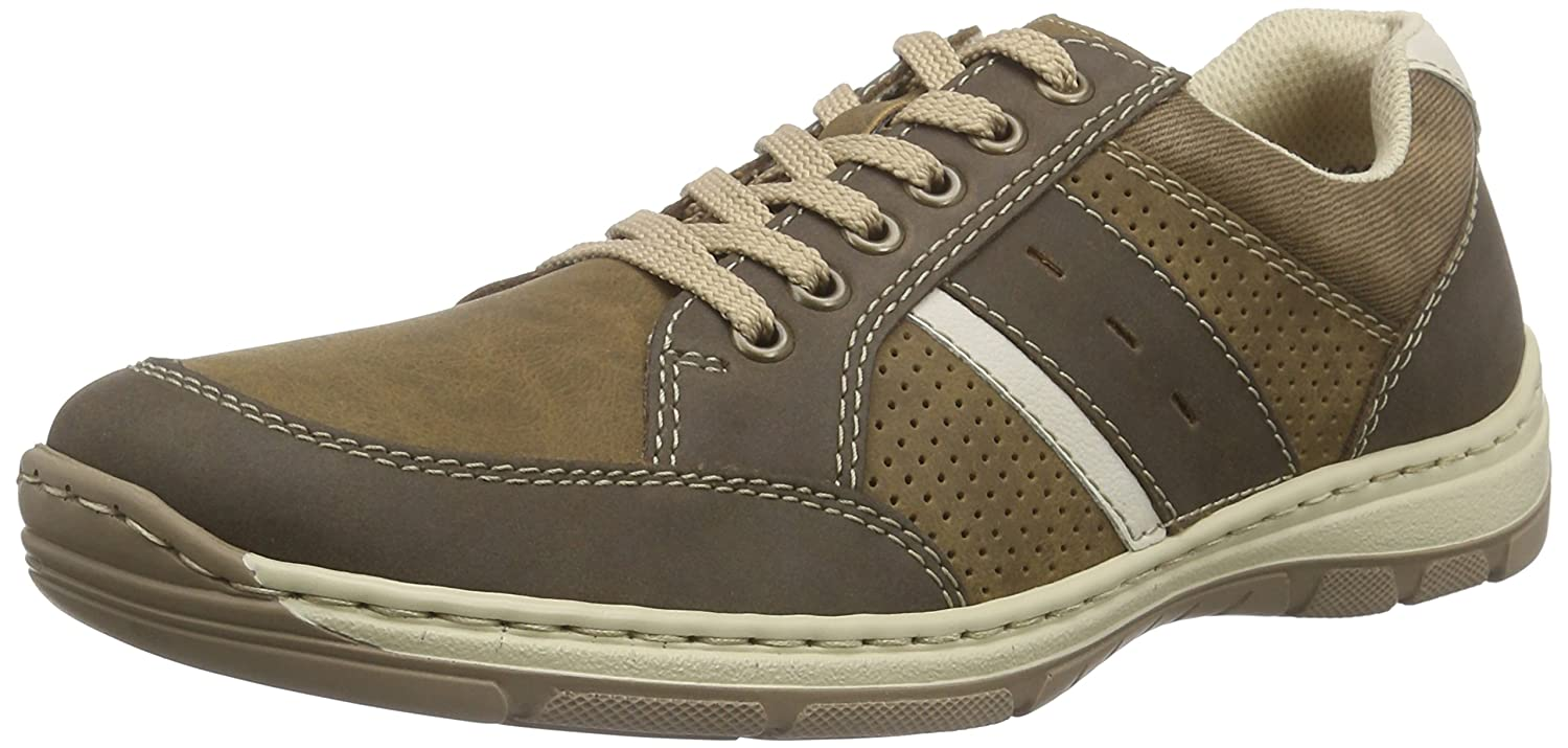 Rieker Herren 15215 Lace-up-Men Brogue Schnürhalbschuhe