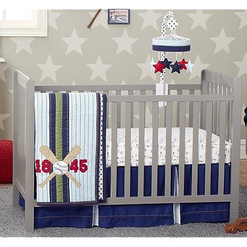 Baseball Nursery Bedding Amazon Com