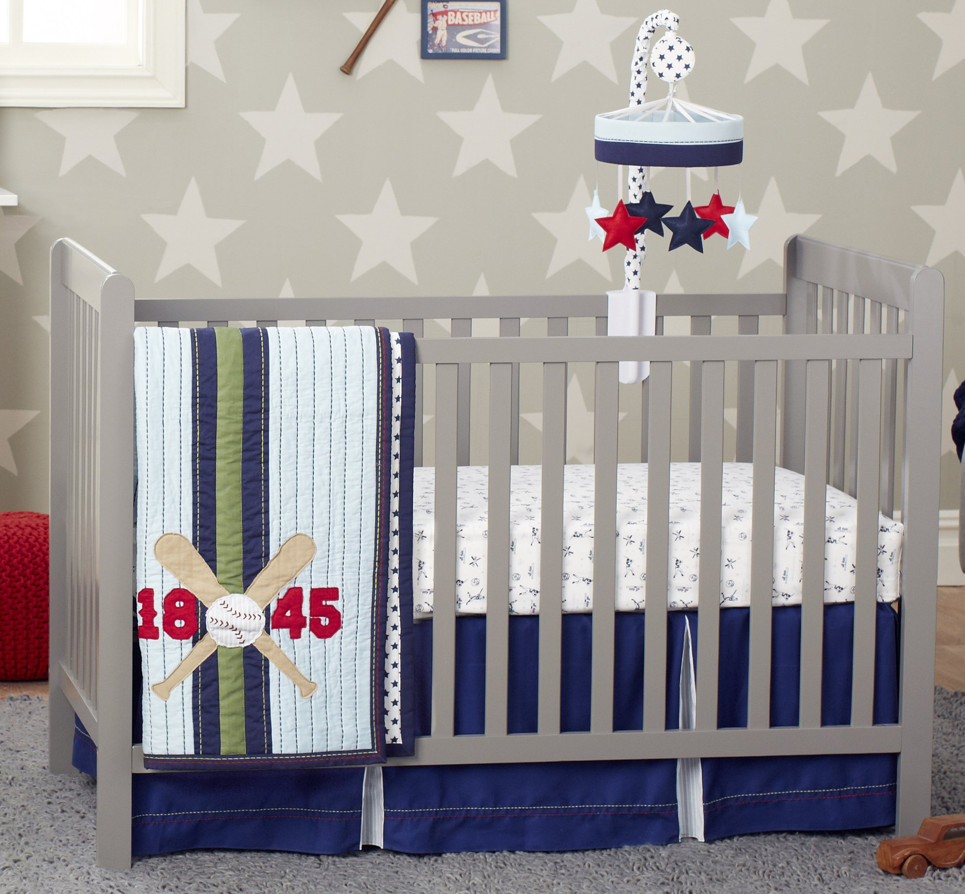 Baseball Nursery Bedding Amazon Com