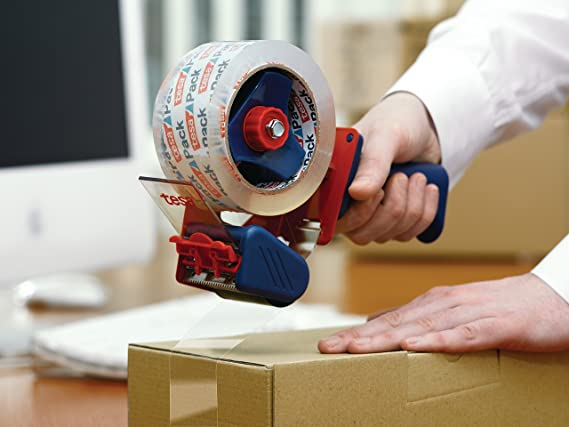tesa UK 06400-00001-02 Dispenser Comfort for Packaging Tapes - - Amazon.com
