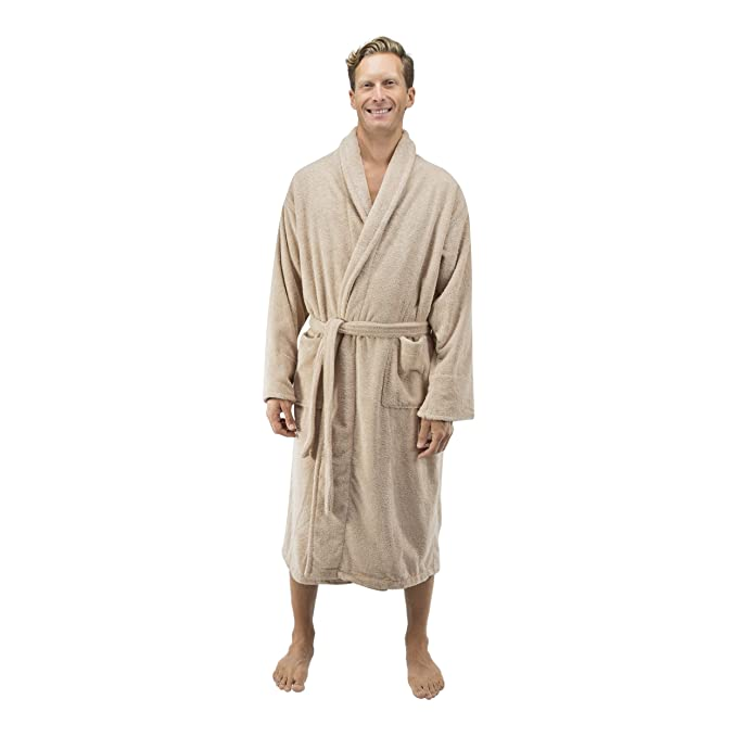 Comfy Robes Men s 16oz Turkish Terry Bathrobe  Amazon.ca  Clothing ... 71e464482