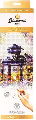 Diamond Art By Leisure Arts DMA Kit FD 12×12 Holiday Lantern