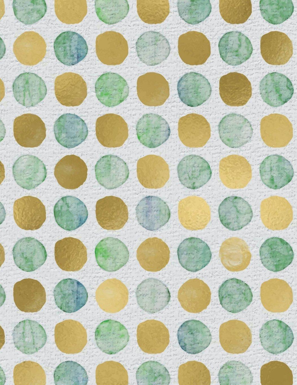 Download Sea Glass Dots Notebook - 4x4 Graph Paper: 200 Pages 8.5 x 11 Quad Ruled School Student Teacher Math Ocean Beach Polka Dots PDF