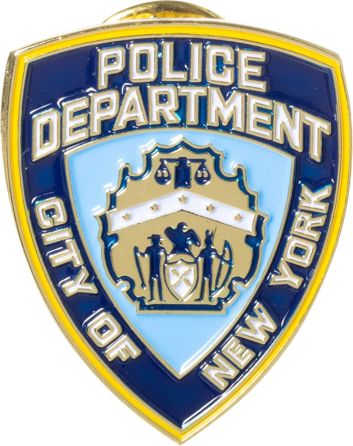Officially Licensed City of New York Police Department NYPD Souvenir Lapel Pin