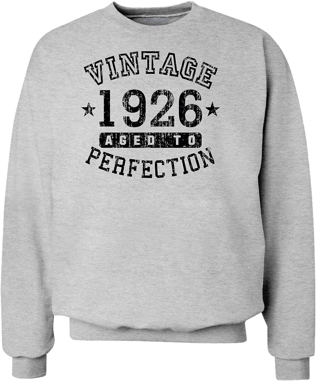 TOOLOUD 1926 Vintage Birth Year Sweatshirt Brand