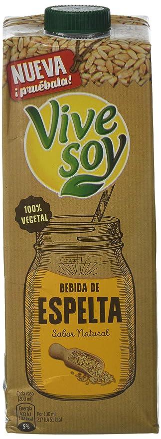 Vivesoy - Bebida de Espelta - Paquete de 6 x 1 l - Total: 6 l: Amazon.es: Amazon Pantry