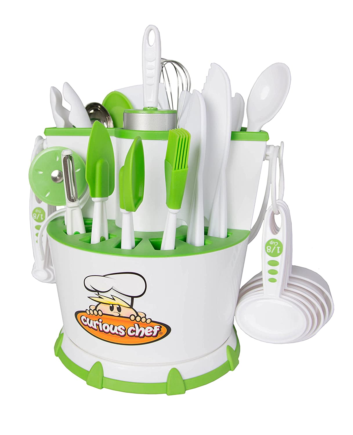 Curious Chef30-Piece Chef Caddy Collection