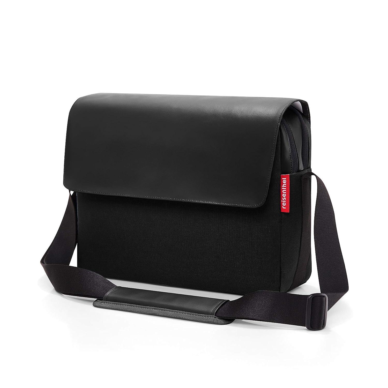 reisenthel Canvas Businesstasche | Workbag | Umhängetasche | Aktentasche + Organizer Tasche | pocketcase (foldbag Canvas Blue) Courierbag Canvas Black