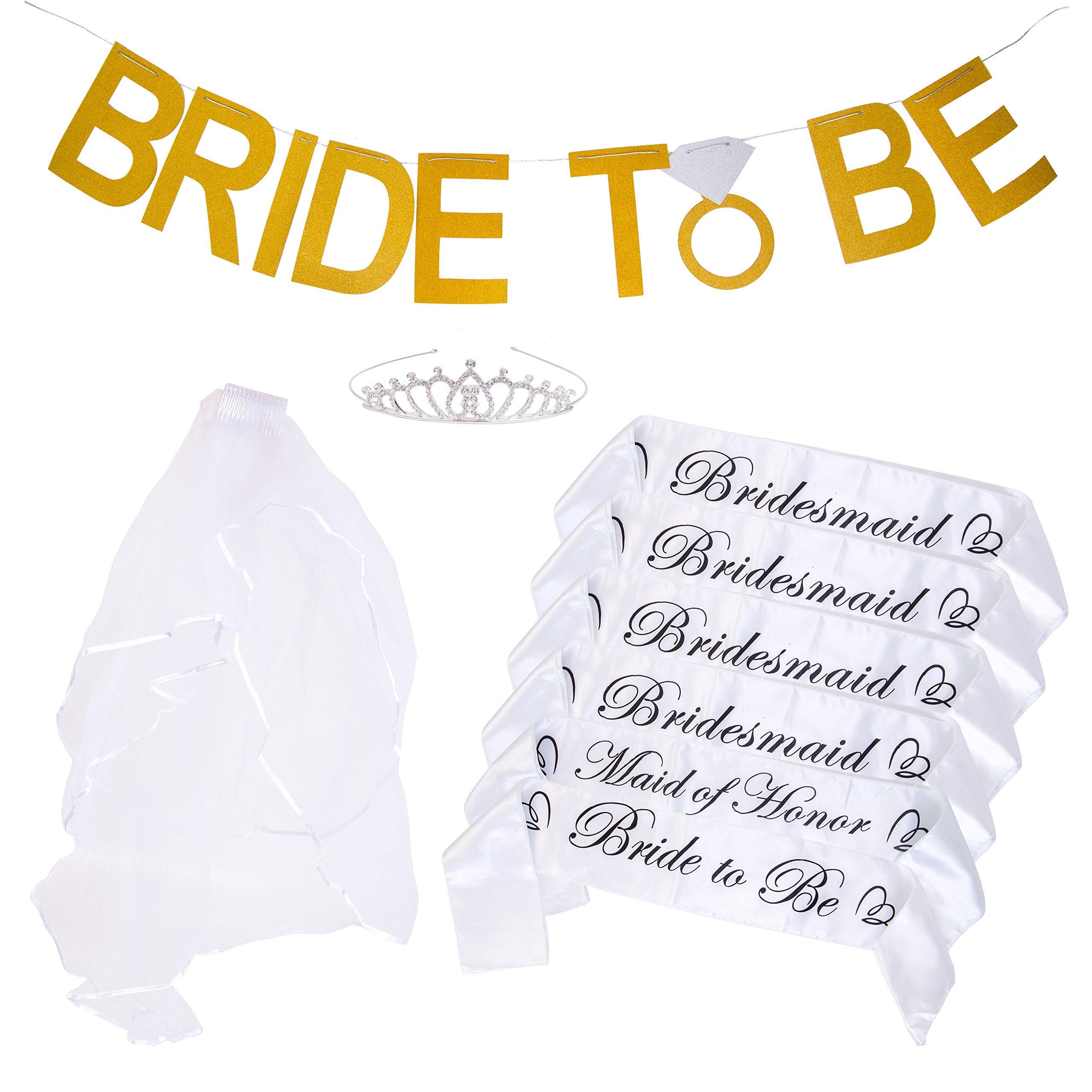 Bachelorette Party Bride to Be Kit - 6 Unique