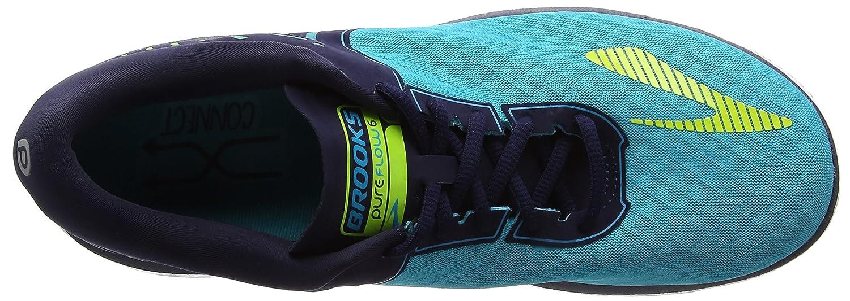 Brooks Women's PureFlow 6 B01GEZUWOS 9.5 B(M) US|Bluebird/Peacoat/Lime Punch