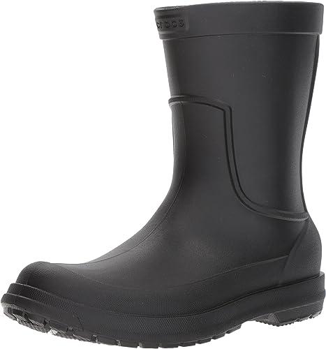 TALLA 43 EU. Crocs AllCast Rain Boot M, Botas para Hombre