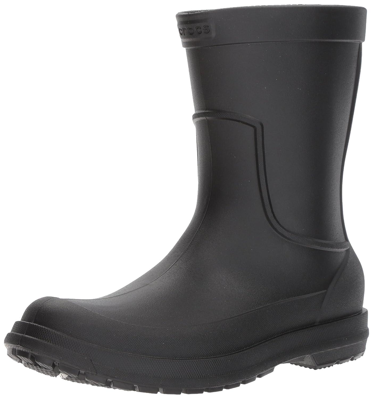 TALLA 42/43 EU. Crocs AllCast Rain Boot Men, Botas para Hombre