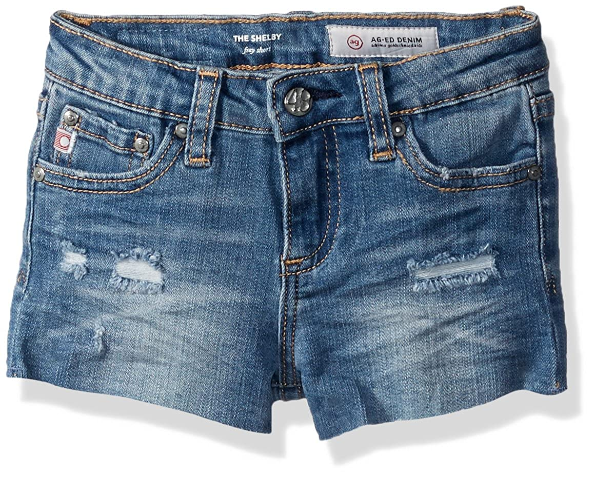 AG Enfants Adriano orschmied Girls' Toddler Shelby courte, Seaport, 3T