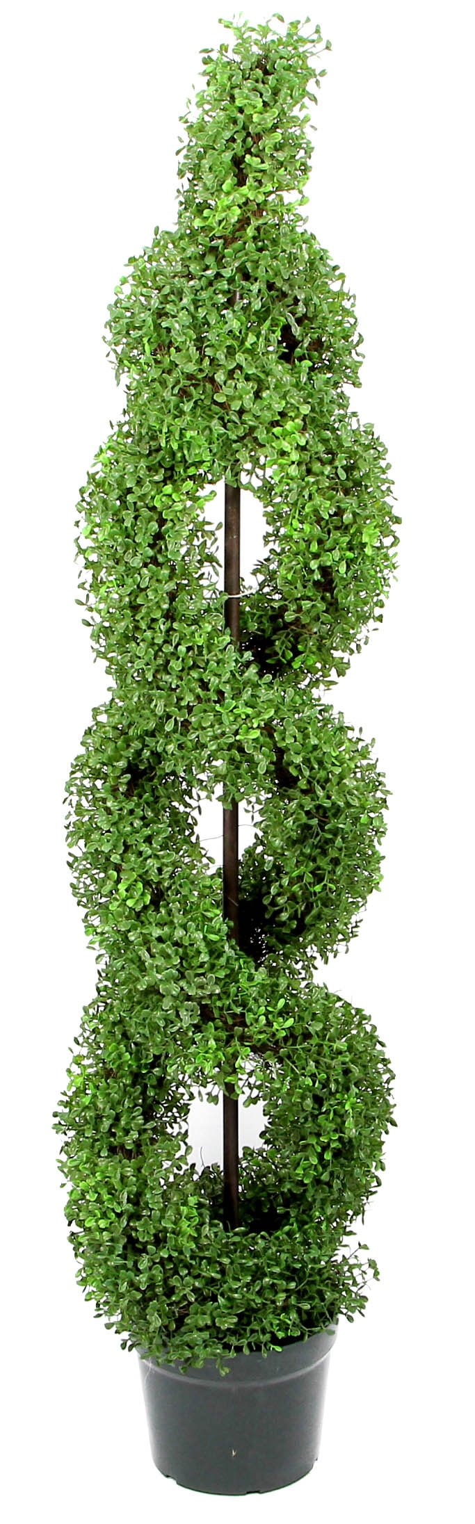 Admired-By-Nature-Artificial-Boxwood-Leave-Double-Spiral-Topiary-Plant-Tree-in-Plastic-Pot