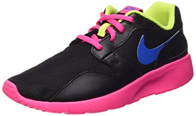 new concept efe4f 6f2a4 NIKE Girl s Kaishi (GS) Running Shoe Black Pink Pow Volt Photo