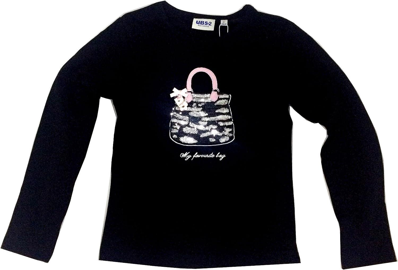 Ubs2 Camiseta Niña Cesta Negra: Amazon.es: Ropa y accesorios