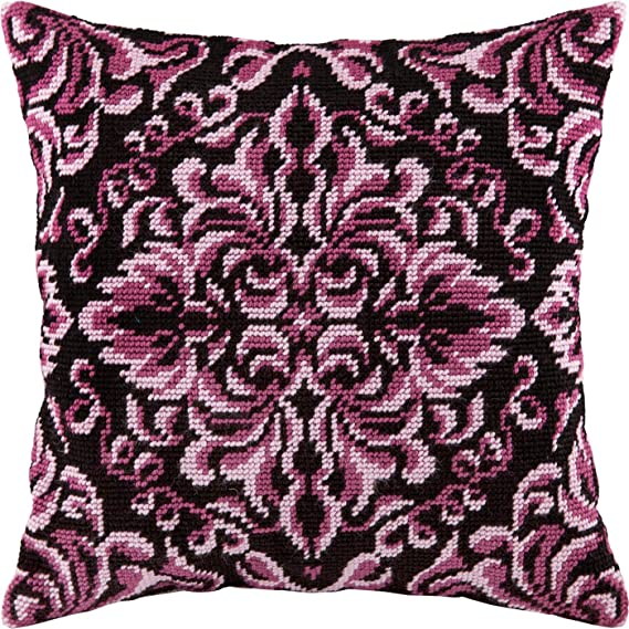 Needlepoint Kit Printed Tapestry Canvas European Quality Navigation Throw Pillow 16/×16 Inches
