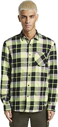 Tom Tailor - Camisa de vaquero, camisetas y camisas a cuadros: Amazon.es: Ropa y accesorios