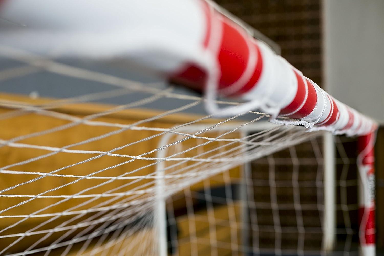 Netsportique Filet de Handball Blanc 2mm lunit/é