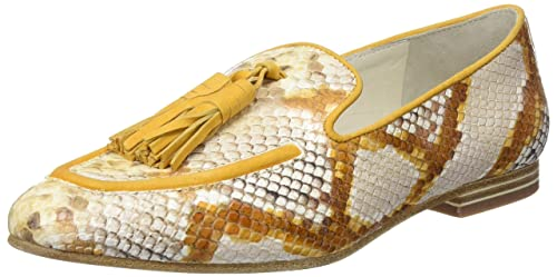 Lottusse S9543, Mocasines (Loafer) para Mujer, Marrón (Snake Honey), 38 EU: Amazon.es: Zapatos y complementos