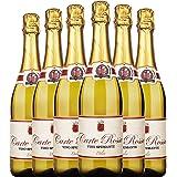 【年货节】新包装发货 意大利卡特罗莎甜白起泡酒整箱6支装 直采原瓶进口香槟式起泡酒 750ml*6(wine)