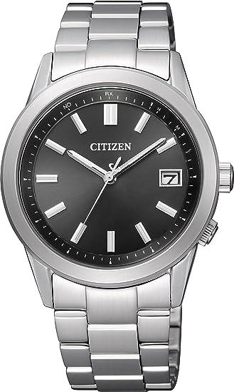 [シチズン]CITIZEN 腕時計 CITIZEN-Collection シチズンコレクション Eco-Drive電波 エコ・ドライブ電波 スタンダード ペアモデル AS1050-58E メンズ