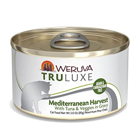 Weruva TruLuxe Grain-Free Natural Canned Wet Cat Food