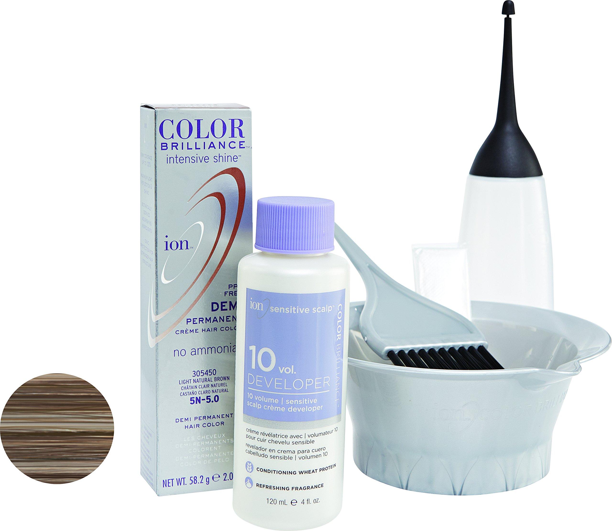 Amazon Ion 5g Light Golden Brown Demi Permanent Creme Hair