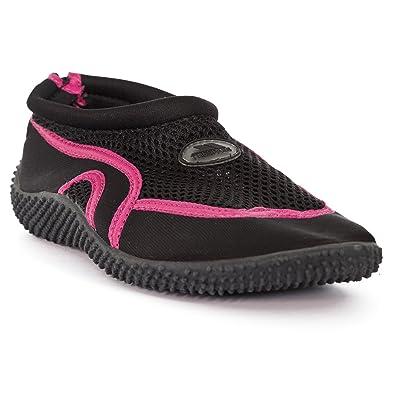 365be31e452 Trespass Adults Unisex Paddle Aqua Swimming Shoe (5 UK) (Black/Raspberry)