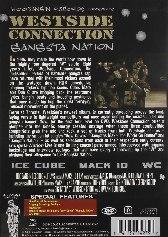 amazon com westside connection gangsta nation live westside