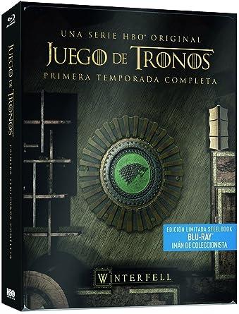 Juego De Tronos Temporada 1 Blu-Ray Steelbook Blu-ray: Amazon.es ...