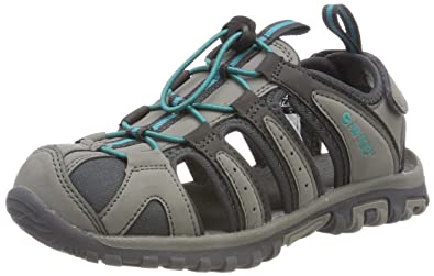 Hi-Tec Damen Cove Sandal Trekking-& Wanderschuhe, Violett (Grape/Wine/Georgia Peach), 39 EU
