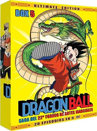 Dragon Ball Box 5 (5) [DVD]: Amazon.es: Animación, Masahiro Hosoda ...