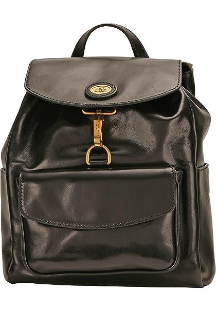 Modestile heißer Verkauf online neue niedrigere Preise The Bridge Story Donna Rucksack 26cm 30 black gold