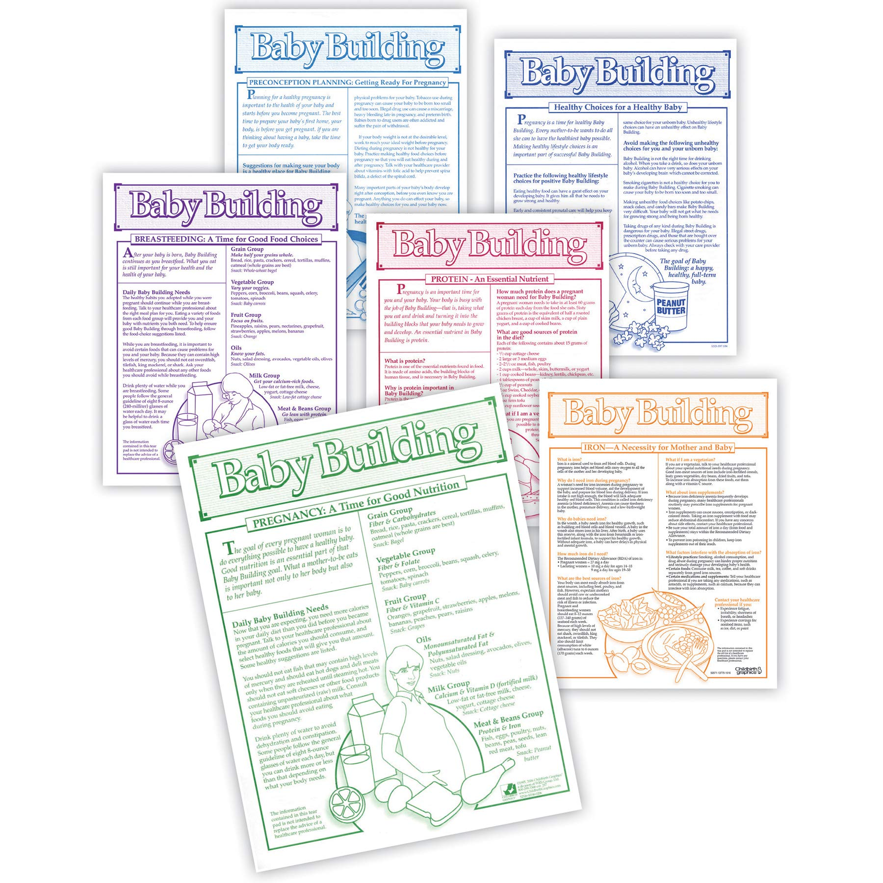 Baby Building Tear Pad Set (6)