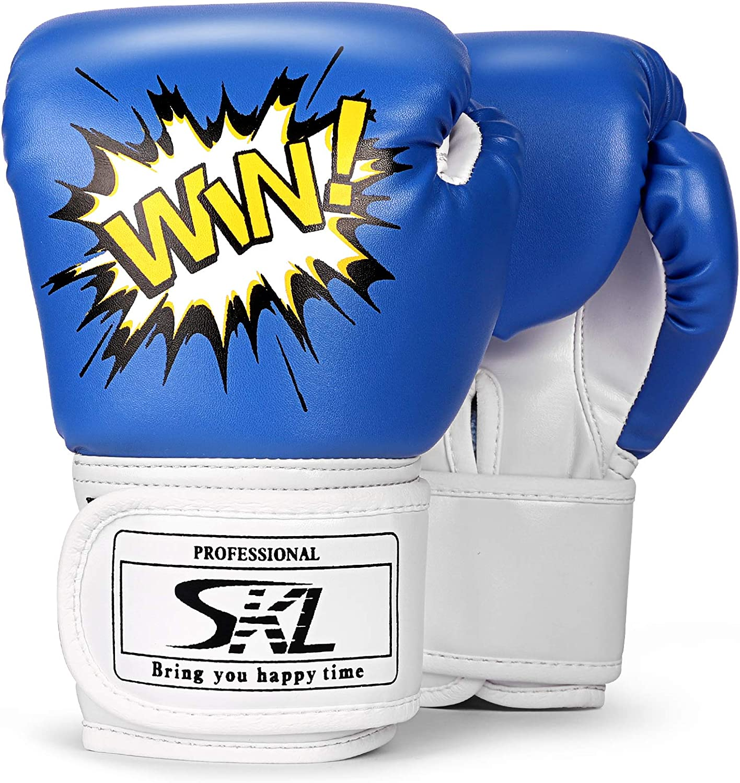 CHILDREN/'S Boxing Gloves Focus Pads Set Kids Junior Punch Bag Sparring Training