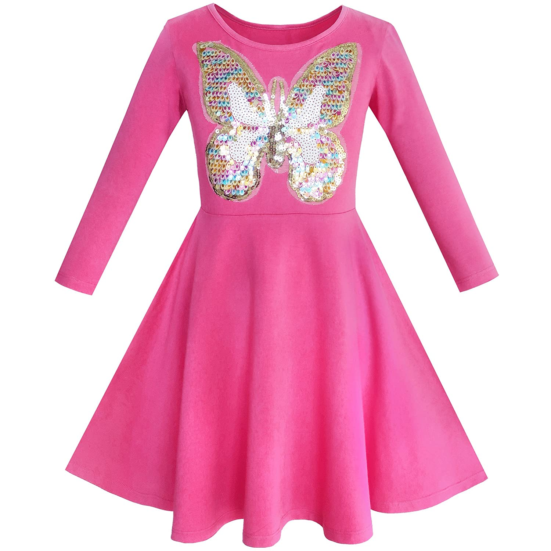 Kleid rosa 116