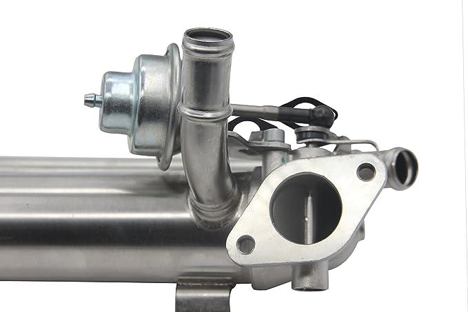 03g131512ad 03g131512aa nueva válvula EGR enfriador de radiador EGR regulador de recirculación de gases de escape Válvula con 2 x Juntas: Amazon.es: Coche y ...