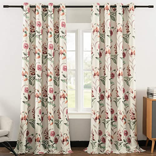 Leeva 2 Panels Room Darkening Curtains