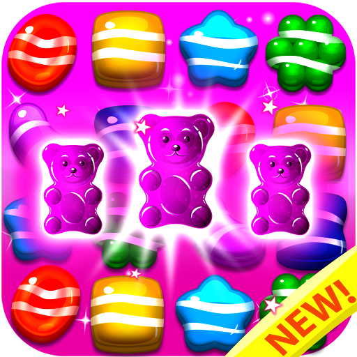 Candy Gummy Bears 2018 - Match 3 Puzzle Games Free! Play the