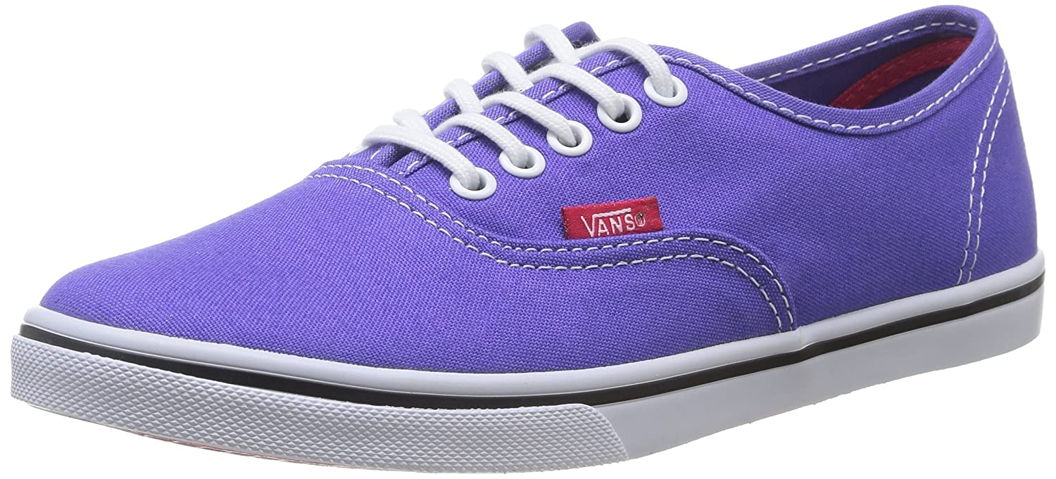 Vans Authentic B00L5MVW04 7 M US Women / 5.5 M US Men|Purple Iris/Rose Red