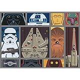 Gertmenian: Star Wars Rug HD Digital Retro Collection Classic SW Cartoon Bedding Area Rugs 40x54 inch, Medium