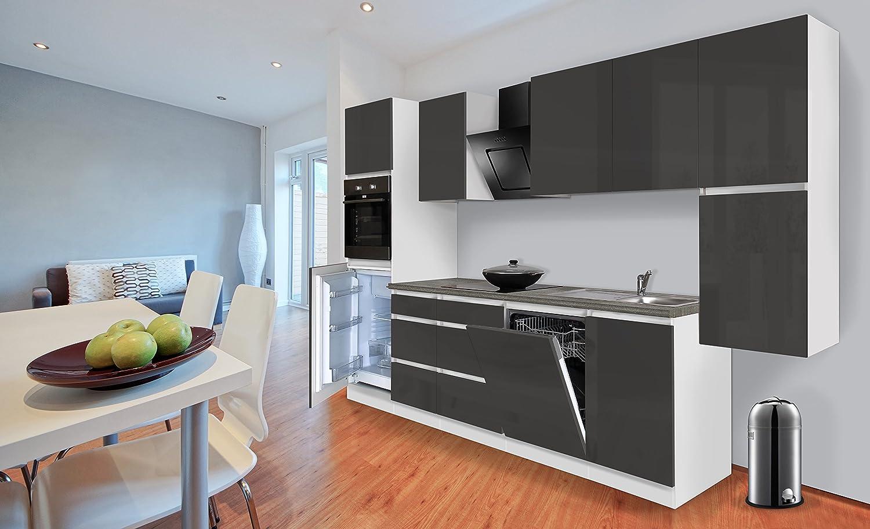 respekta Premium grifflose Cocina - Bloque de Cocina (330 cm ...